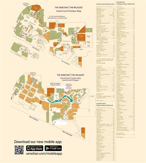 venetian vegas map  travel information