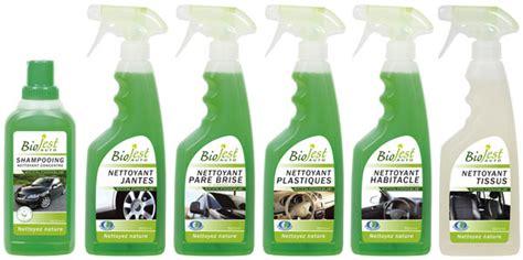 produit nettoyage siege voiture biojest auto les produits d 39 entretien auto écologiques