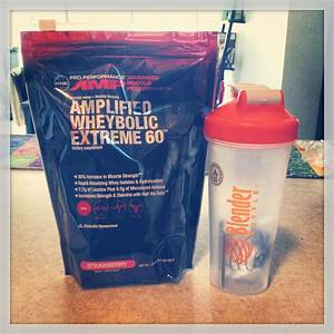 Amp Strawberry Wheybolic Extreme 60  After Work Out Supplement  I Used This The Last Two Weeks
