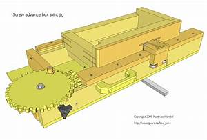 Free Woodworking Plans Box Joint Jig Plans DIY Free