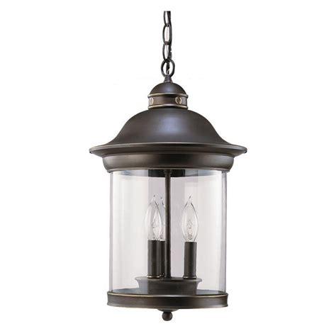 home depot outdoor hanging lights sea gull lighting classico 3 light antique bronze outdoor