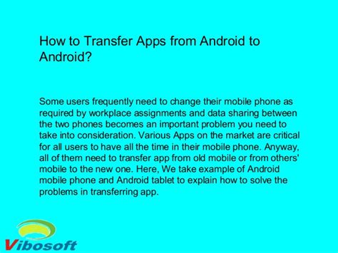 how to transfer to android how to transfer apps from android to android