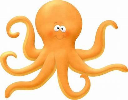 Sea Creatures Clipart Under Ocean Octopus Mar