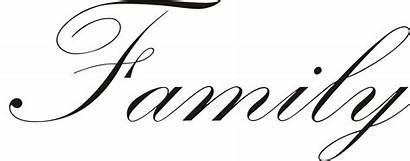 Word Clipart Words Fonts Cursive Names Cliparts