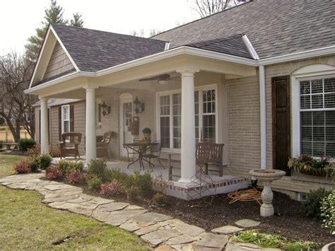 porch building plans ranch style house plans with porch ranch style house plan