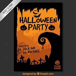 Halloween Kürbis Schablone : halloween party plakat schablone download der ~ Lizthompson.info Haus und Dekorationen