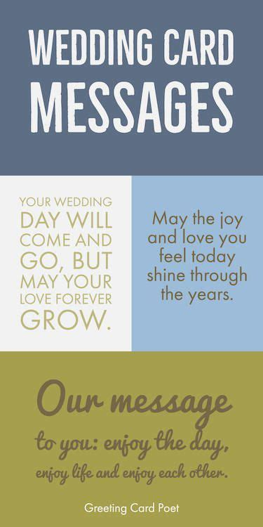 wedding card messages beautiful words
