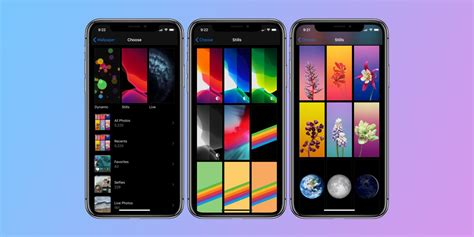 ios   include  wallpaper settings  home screen