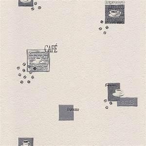 Moderne Tapeten Für Die Küche : tapete k che kaffee cremewei silber tapete aqua relief 4 rasch 815702 ~ Sanjose-hotels-ca.com Haus und Dekorationen