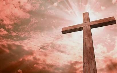 Cross Christian Background Wallpapers Jesus Crosses Springtime