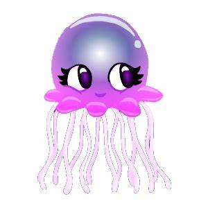 Cartoon Jellyfish Pictures to Pin on Pinterest - PinsDaddy