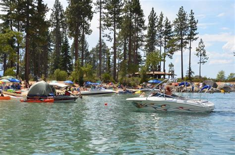 Boat Launch North Lake Tahoe by Sand Harbor Boat R Lake Tahoe Guide