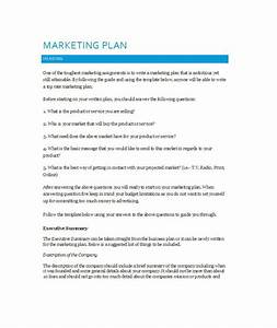33 free professional marketing plan templates free for Promotional strategy template