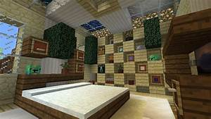 minecraft furniture storage With minecraft interior wall ideas