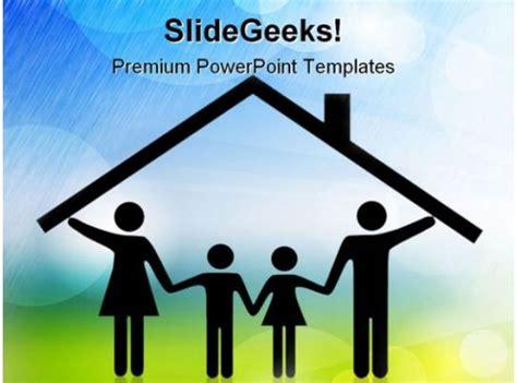 parents  children family powerpoint templates