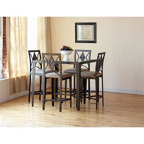slate 5 pc pub dining set betterimprovement