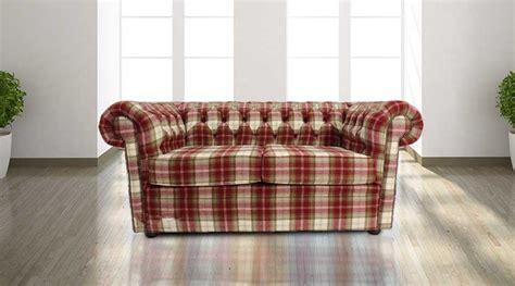 tartan chesterfield sofa buy tartan wool chesterfield sofa at designersofas4u