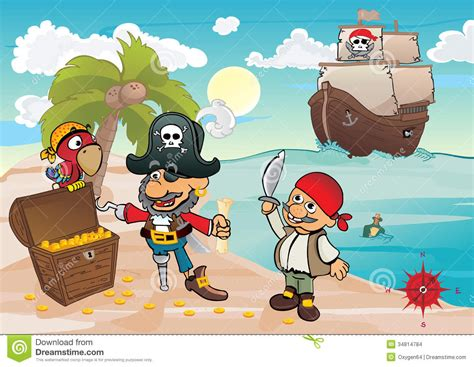 Treasure Island Stock Images