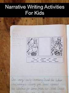 Narrative Writing Activities For Kids   Planning With Kids