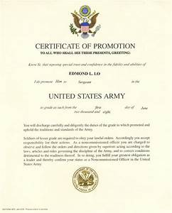 promotion to sergeant quotes quotesgram With army promotion certificate template
