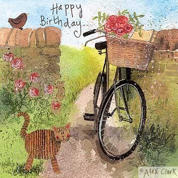 country birthday cards country lane happy birthday card thecyclespa