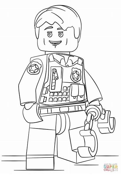 Coloring Police Space