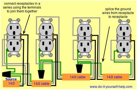 Wiring Diagram For Series Receptacles Agnes Gooch