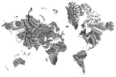 Dessin Carte Du Monde A Imprimer by 1001 Id 233 Es Et Techniques Pour Faire Un Mandala