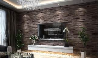 ideen steintapete pvc wood brick wallpaper 3d modern wall paper luxury classic vintage wallpaper living room