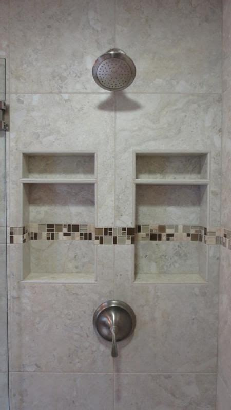double niche   side   plumbing