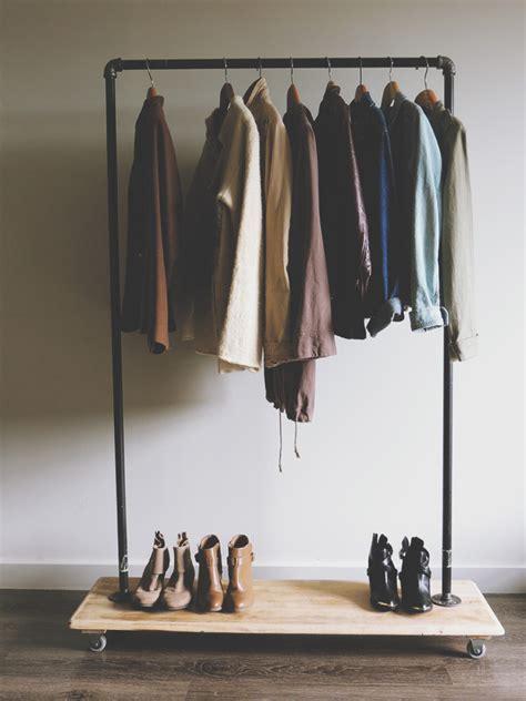 clothing racks for diy garment rack tutorial kirsten zellers a diy style