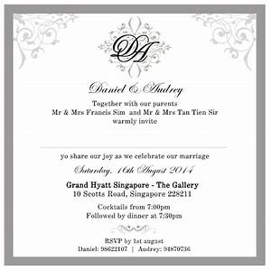 Sponsored wedding invitation cards by the card room for When to send wedding invitations singapore