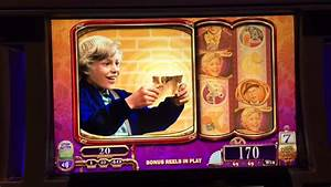 Willy Wonka and The Chocolate Factory SLOT MACHINE BONUS ...