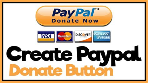How Make Paypal Donate Button Tutorial Youtube