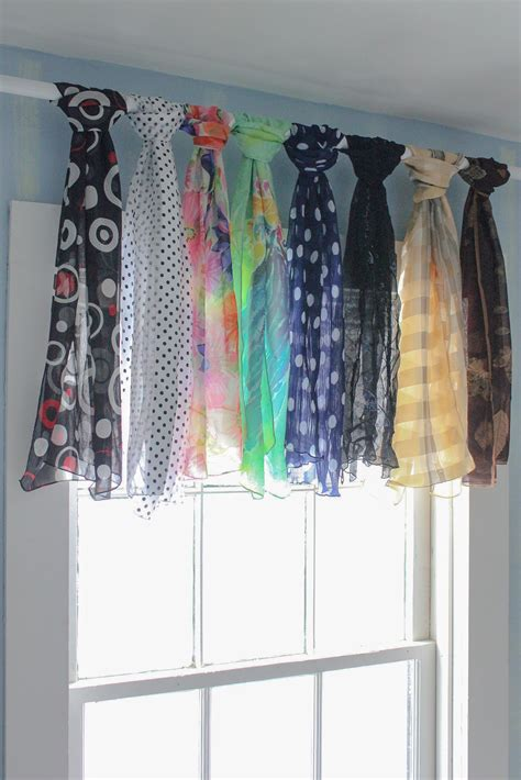 Valances Window Treatments by No Sew Window Treatments Creative Valances From Your Own