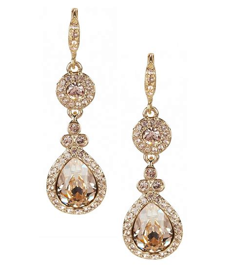 Givenchy Crystal Drop Earrings  Dillards. Uncut Diamond Earrings. Hot Anklet. Four Stone Engagement Rings. Cable Bangles. Fine Gold Jewellery. Michele Watches. Marcasite Wedding Rings. Mum Necklace