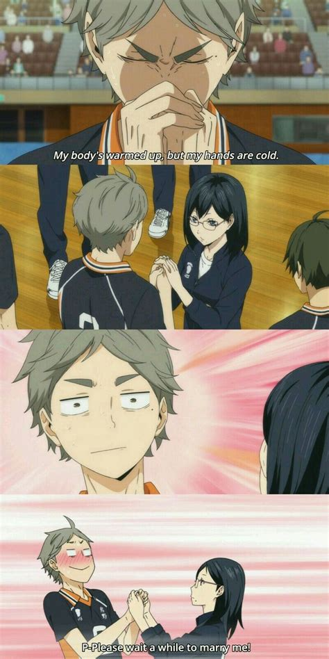 im  gonna marry  sugawara san hehehe