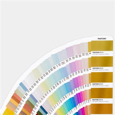 pantone metallics coated guide color inspiration