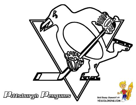 hockey coloring pages free coloring pages of nhl logo