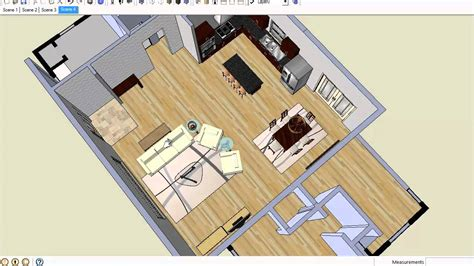 arrange furniture  open floor plans youtube