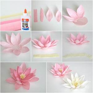 Comment Faire Des Roses En Papier : fabriquer des fleurs en papier ~ Melissatoandfro.com Idées de Décoration