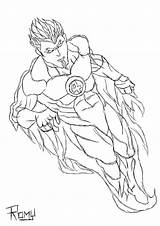 Torch Human Coloring Pages Drawing Template Standing Getdrawings Sketch Line sketch template