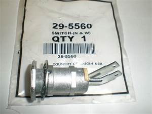 Ignition Starter Switch W  Key