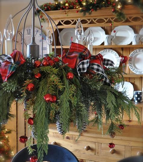 christmas decorations for chandeliers 39 christmas chandeliers and chandelier decor ideas digsdigs