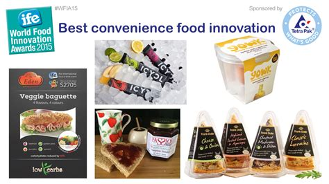 cuisine innovation ife wfia best convenience food innovation