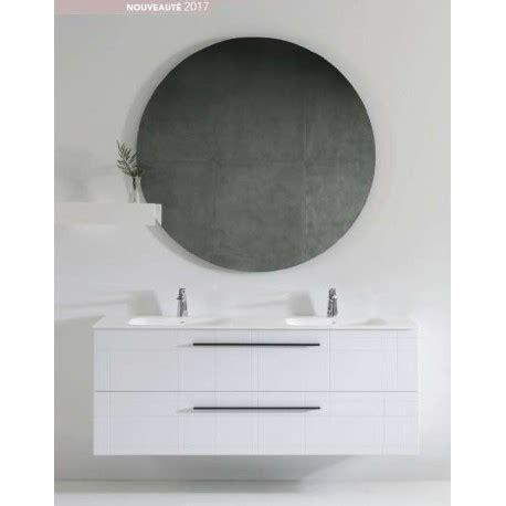 alinéa meuble pack alina 1300 meuble 2 tiroirs vasque miroir