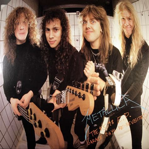 Metallica 598 Ep Garage Days Re Records, Lps, Vinyl And