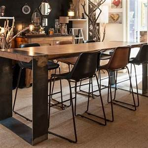 Table Haute Pliable : table haute ronde cuisine top table haute de cuisine ~ Teatrodelosmanantiales.com Idées de Décoration