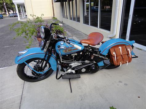 1937 Harley Davidson El Knucklehead Retro G Wallpaper