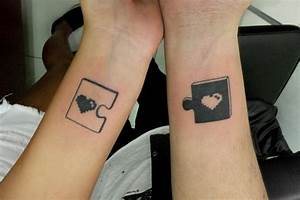 best friend matching tattoos - Google Search - image ...